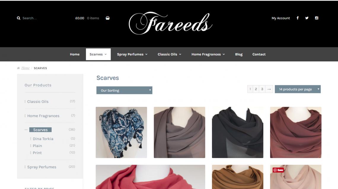 Fareeds Scarves