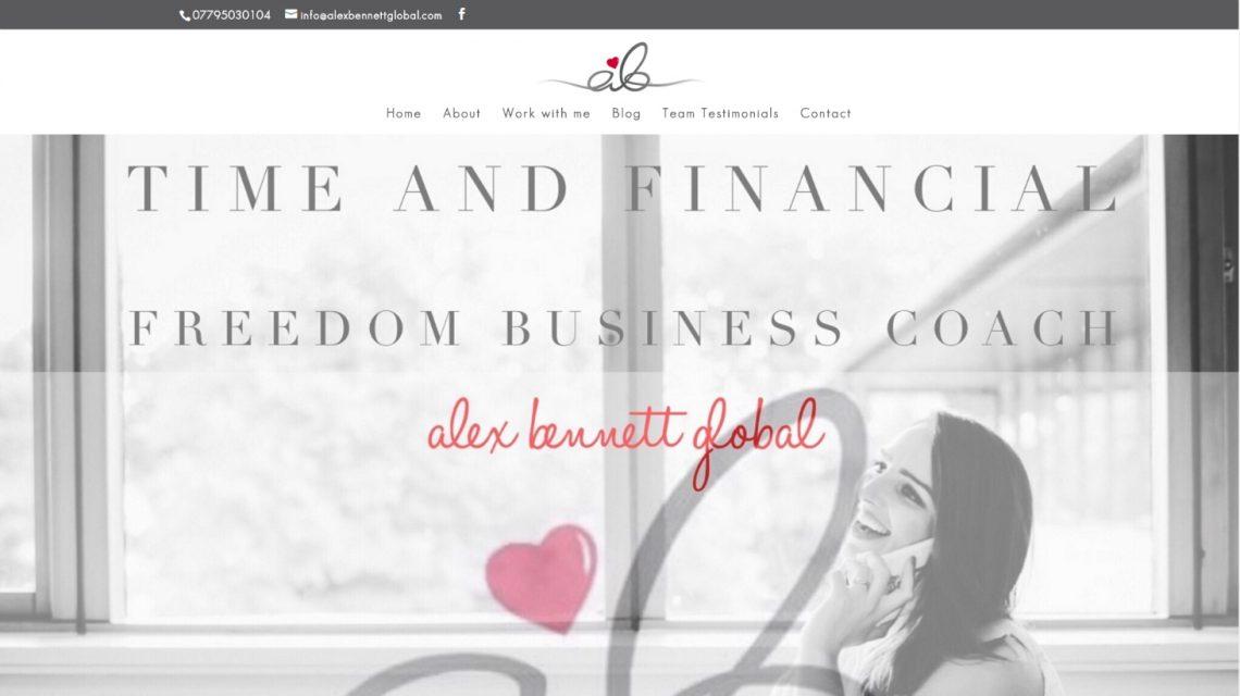 Alex Bennett Global Website