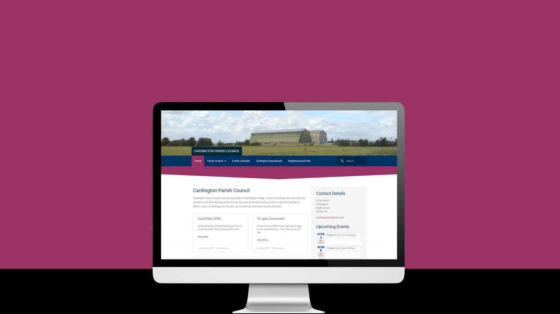 Cardington Parish Council Website