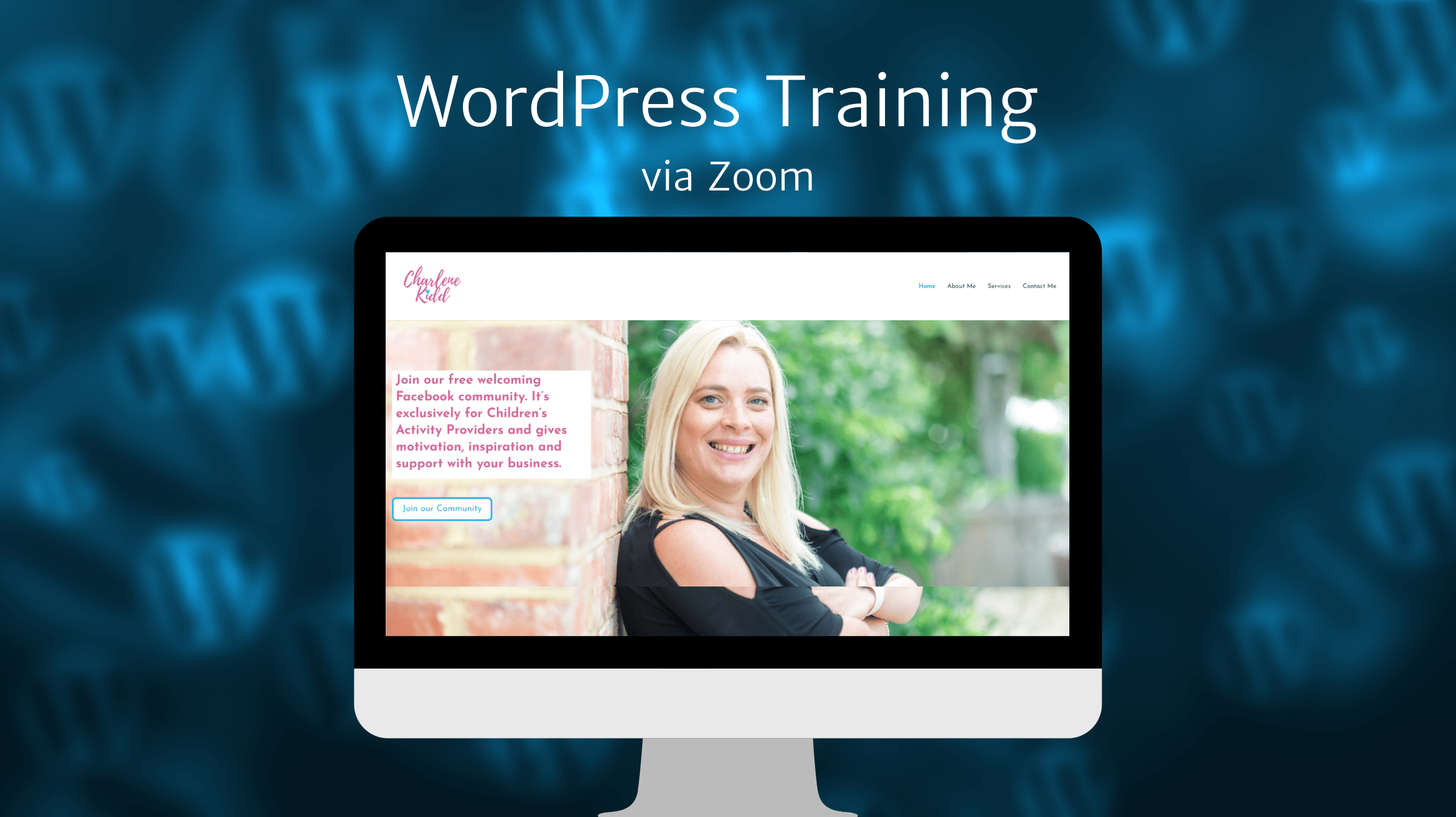 WordPress Training via Zoom
