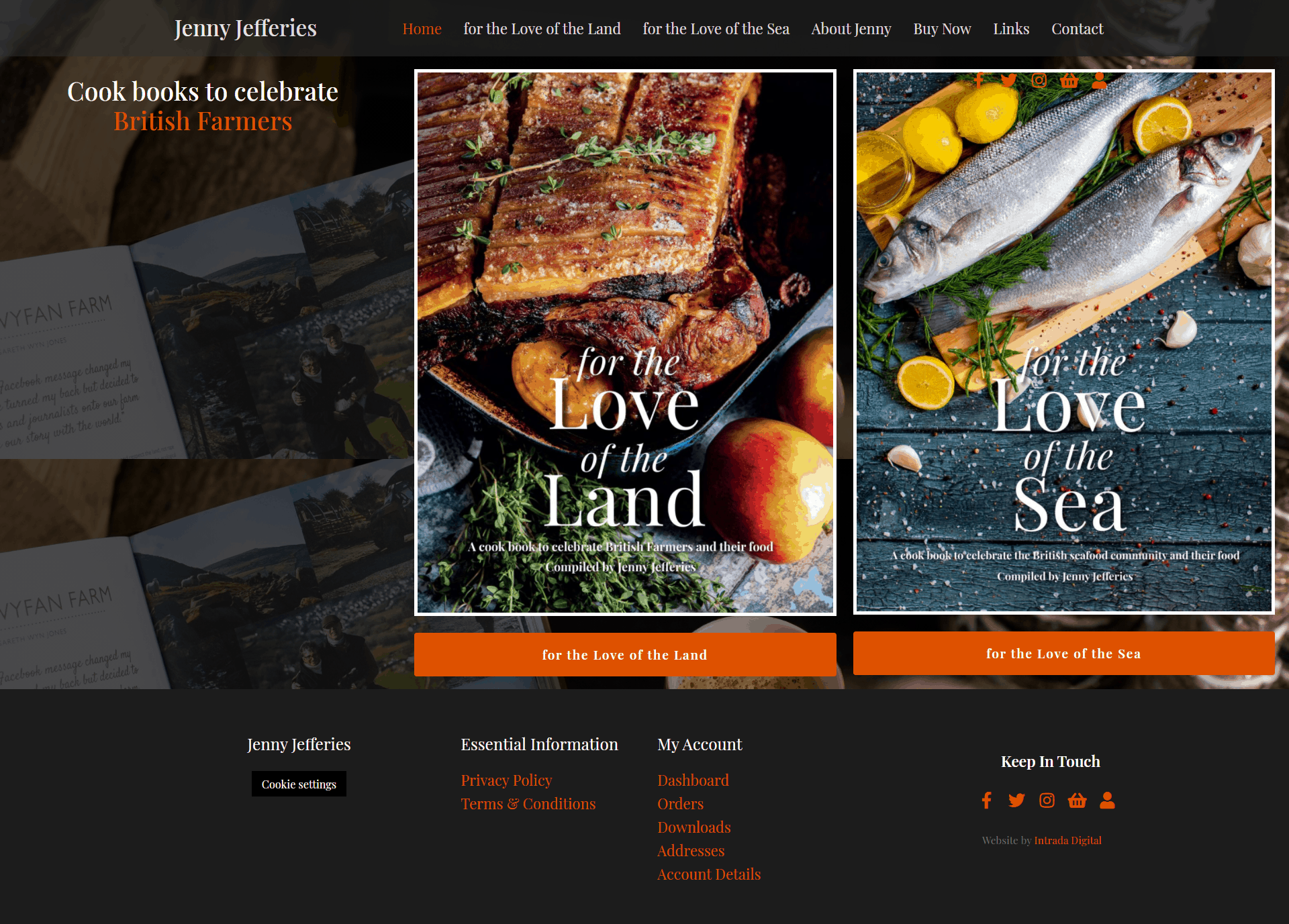 Jenny Jefferies Homepage